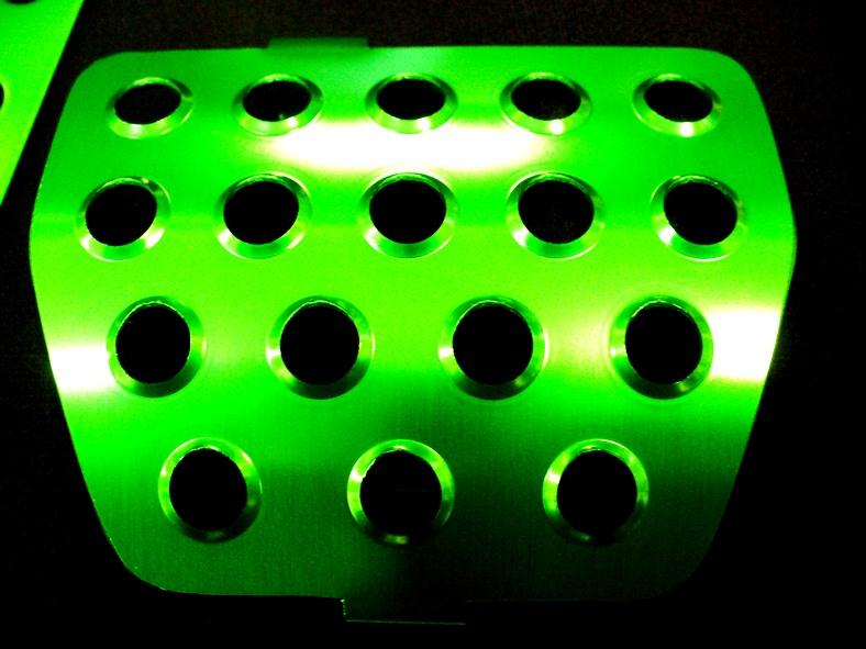 カラーペダル グリーン