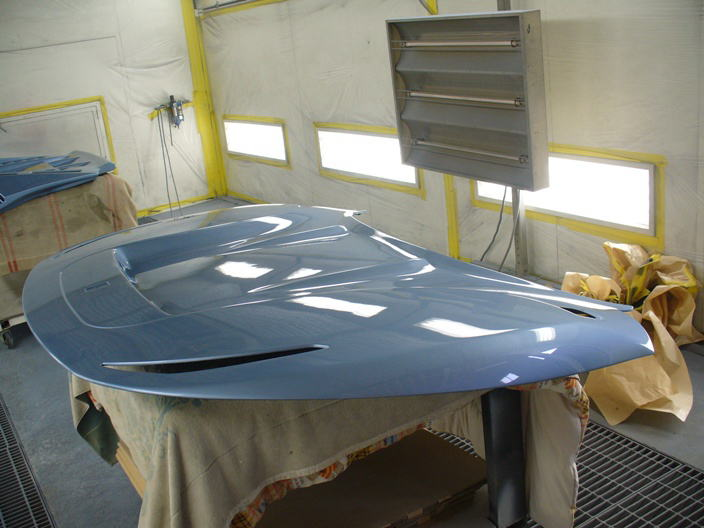 NSX SQUALO ボディ、パーツペイント