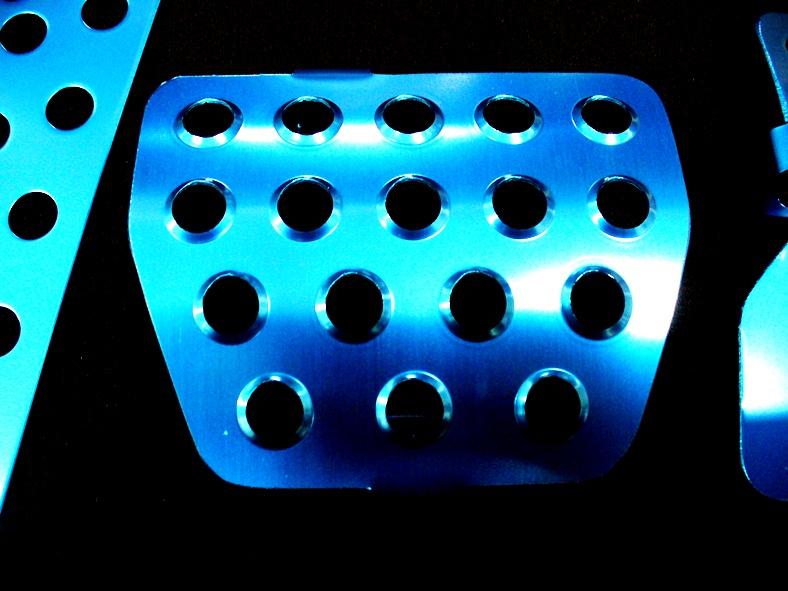 カラーペダル ブルー
