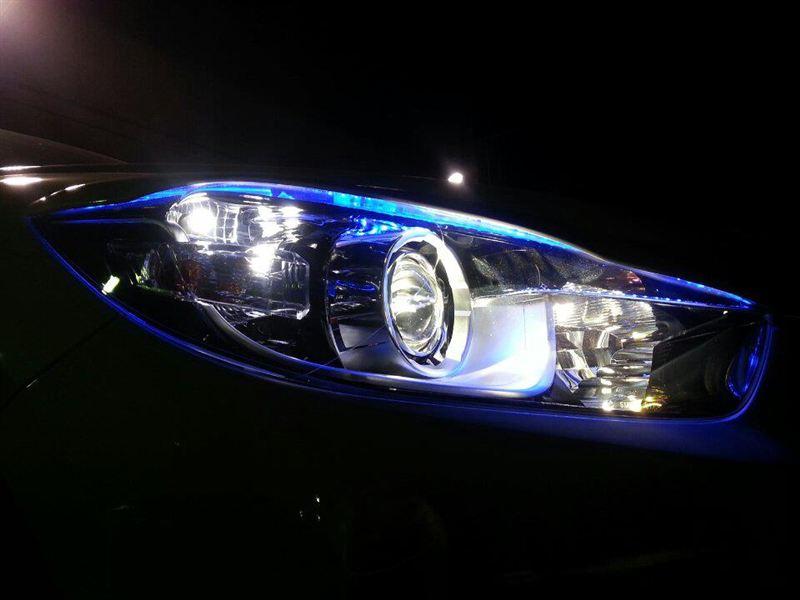 CX-5MIXさま LEDアイライン