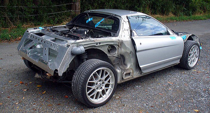 スクアーロ NSX カスタムカー ボディカット