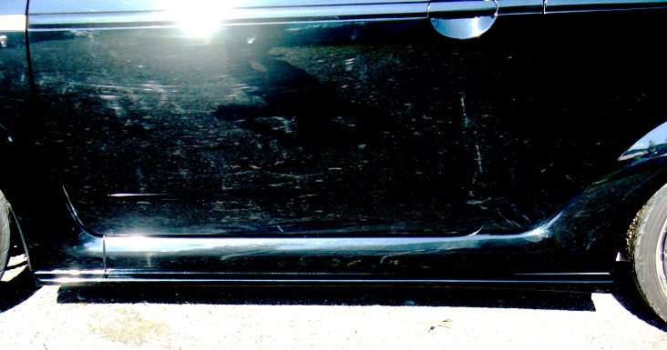 スバルR1ダックスガーデンサイドアンダースポイラー