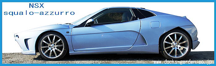 スクアーロ アズーロ ホンダNSXのカスタムカーです。